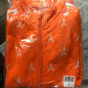 Jeffree Star Halloween Orange Track Suit (S) 🎃